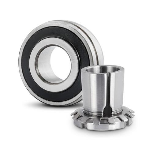 Radial insert ball bearing 2